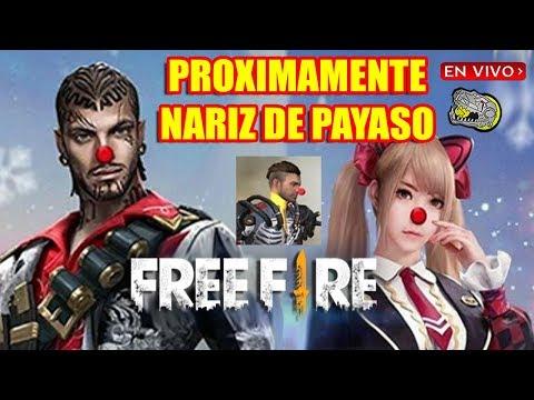 🔴 Se aproxima la Nariz de Payaso - Free Fire - Nuevo TukTuk Navideño!!!
