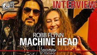 MACHINE HEAD - Robb Flynn interview @Linea Rock 2018 by Barbara Caserta