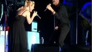 Kelly Clarkson feat Joey McIntyre - Don't You Wanna Stay Mixtape Festival Fest Hershey HD HQ