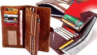 Кожаный кошелек из натуральной кожи с Aliexpress | обзор и сравнение