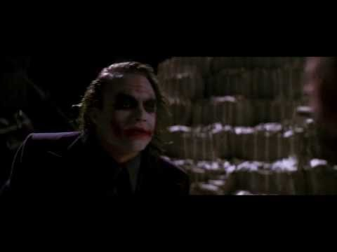 The Dark Knight: Everything burns