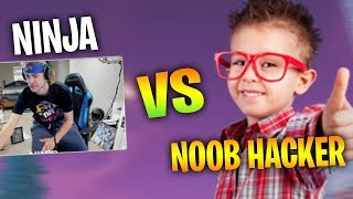 NINJA GETS KILLED BY A NOOB HACKER - Fortnite Battle Royale WTF & Funny Moments Episode. 151