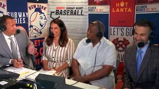 Hank Aaron in the booth | ESPN Broadcast - 2019