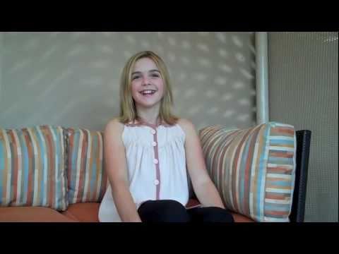 """Mad Men"" Star Kiernan Shipka (Sally) Interviewed by Scott Feinberg"