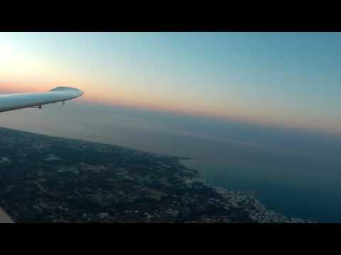 flying when sun set