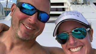 Having Fun on 62' Catamaran The Big Dog in the British Virgin Islands!   HD 1080p