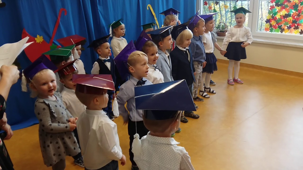 Przedszkole Sasanka Dzieci śpiewają Mówią Wiersze Na