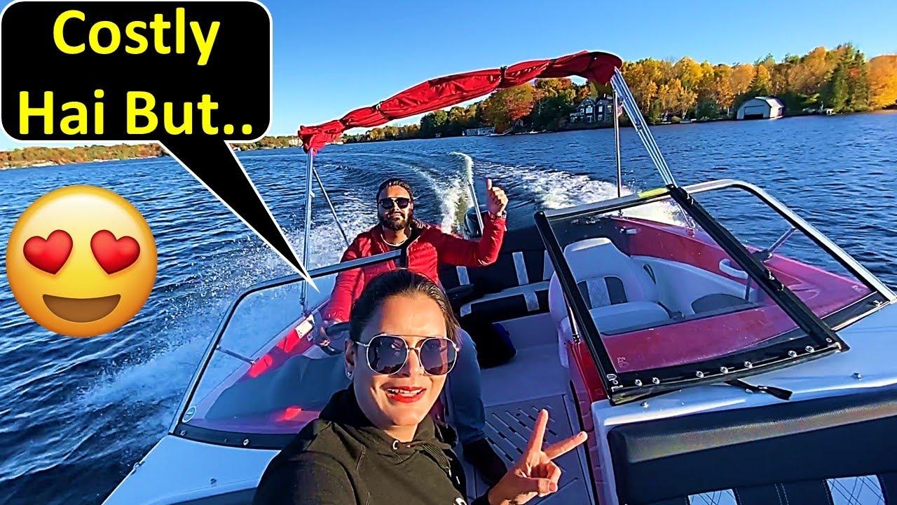 Motorboat Le Toh Li But....😲 | Canada Couple Vlogs