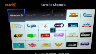 Arabic tv on zaap tv