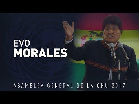 El discurso de Evo Morales en la Asamblea General de la ONU 72 (VERSIÓN COMPLETA)