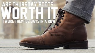 Are Thursday Boots Worth It 5 Months Later? - Thursday Boots Review