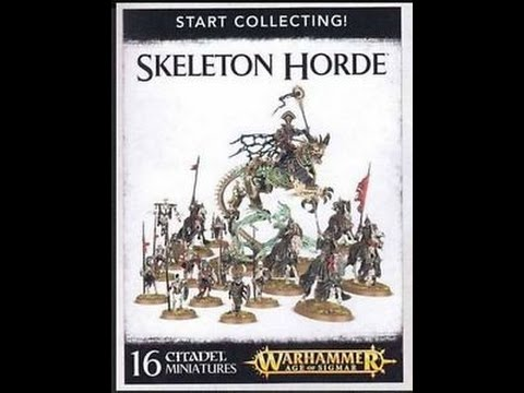 62bde97e8ba What s In The Box  Games Workshop Start Collecting Skeleton Horde ...
