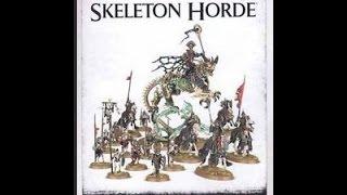 Games Workshop Start Collecting Skeleton Horde Age of Sigmar New