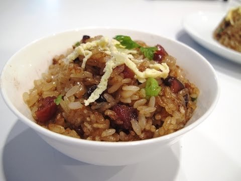 Stir-Fried Sticky Rice 生炒糯米飯