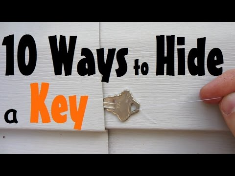 10 Places To Hide A Spare Key Youtube