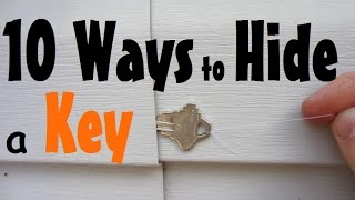 10 Places to Hide a Spare Key