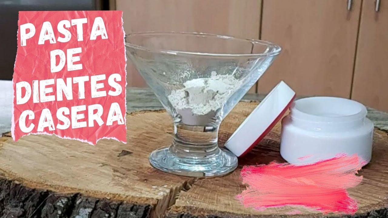 Pasta o crema de dientes casera con 2 ingredientes -