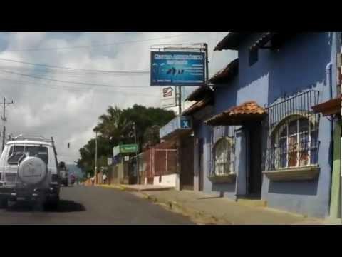 Driving through San Ramon, Costa Rica HD
