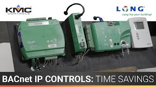 KMC Controls: BACnet IP Time Savings