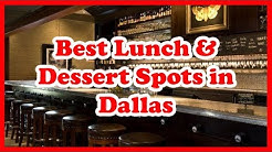 5 Best Lunch & Dessert Spots in Dallas| US | Love Is Vacation