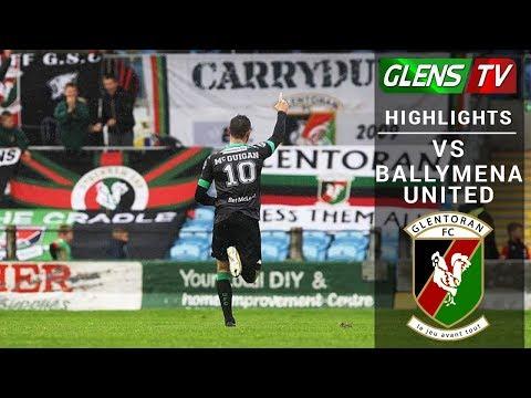 Ballymena United vs Glentoran - 16th September 2017