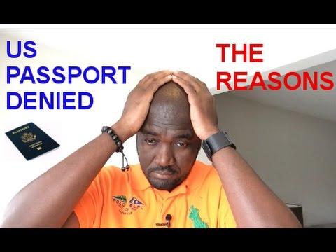 US PASSPORT DENIED
