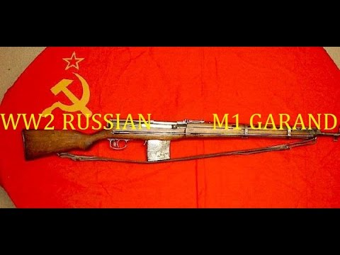 WW2 Russian SVT-38 SVT-40 semi auto battle rifle review
