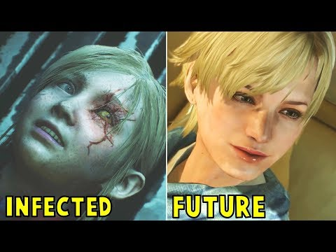 What Happens to Sherry Years After Infection With G-Virus - Resident Evil 2 Remake 2019