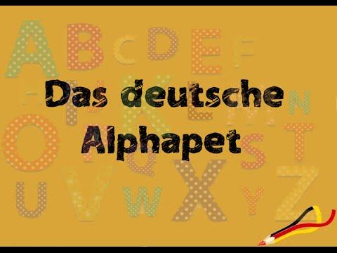 das deutsche alphabet the german alphabet youtube. Black Bedroom Furniture Sets. Home Design Ideas