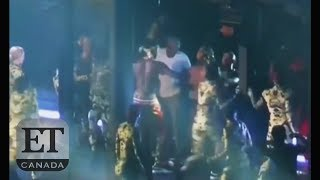 beyonce jay z attacked by fan on stage
