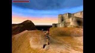 Tomb Raider 4: The Last Revelation: Level 14 Coastal Ruins Walkthrough