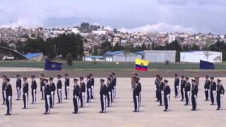 juramento a la bandera UEFAE Nº1  Quito 2013