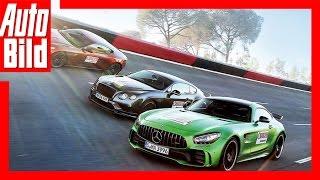 AMG GT R vs Continental und DB11 (2017) - Krasse Supersportler