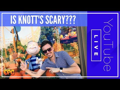 🔴 Live From Knotts Scary Farm 2017