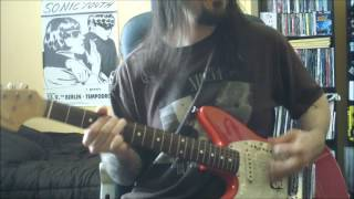 Nirvana - Sifting - guitar cover - full HD