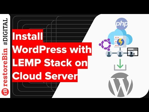Install WordPress with LEMP Stack on Powerful Cloud Server