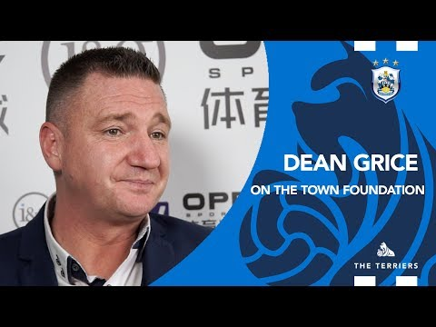 WATCH: Dean Grice On The Huddersfield Town Foundation