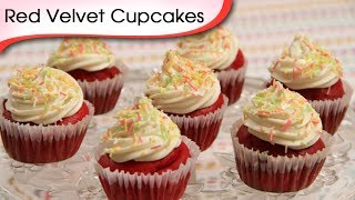 Red Velvet Cupcakes - Easy To Make Homemade Cupcake Recipe By Ruchi Bharani