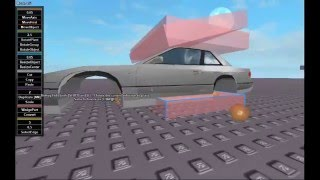 Carving + Texturing a Car on Roblox