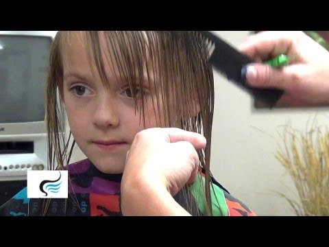 Hairstyles With Bangs On Little Girls Haircut Tutorials