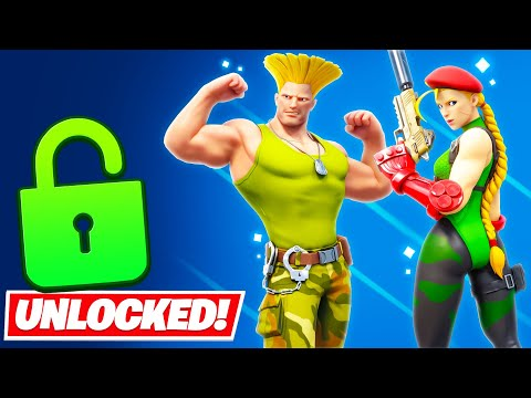 Unlocking *CAMMY* EARLY in Fortnite (CAMMY CUP)