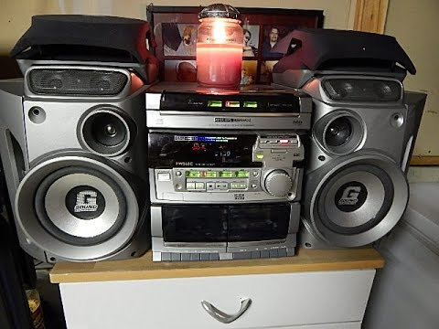 philips fw560c mini system no cd player no tape deck. Black Bedroom Furniture Sets. Home Design Ideas