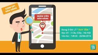 [Phần mềm DMS] Hướng dẫn giám sát nhân viên bán hàng trên bản đồ số GPS
