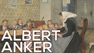 Albert Anker: A collection of 189 paintings (HD)