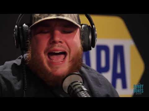 "Luke Combs - ""When It Rains It Pours"" Live on the Bobby Bones Show"