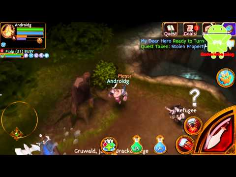 Arcane Legends Online Gameplay HD
