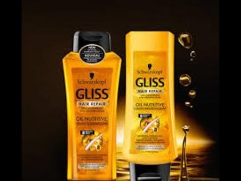 Friday Finds - Schwarzkopf Gliss  Split End Relief Oil Nutritive Shampoo  & Conditioner