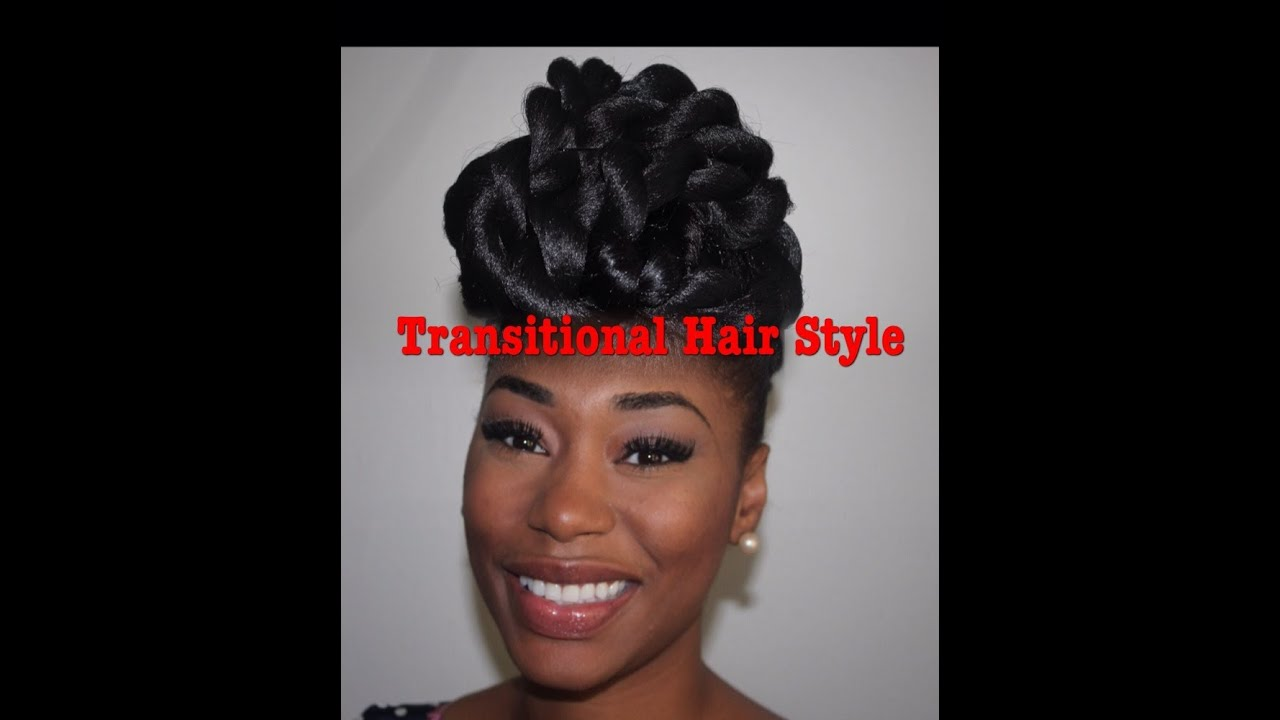 best protective styles for relaxed hair protective style hair updo for transitioning 1498