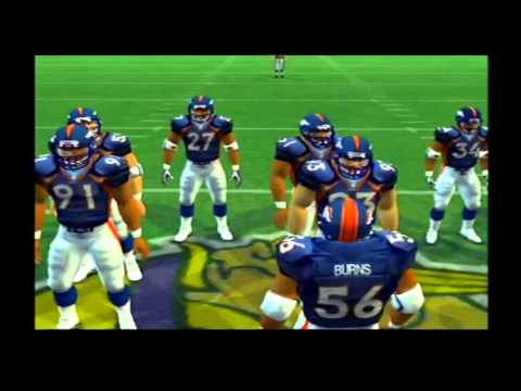 1997 Denver Broncos vs 1998 Minnesota Vikings Madden NFL 07 Hall Of Fame Edition