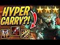 3 STAR Hyper Carry RENGAR?!  Teamfight Tactics  TFT ...